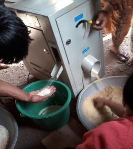 A community-managed Rice Mill in Chapyusen, Bontoc, Mt. Province Works