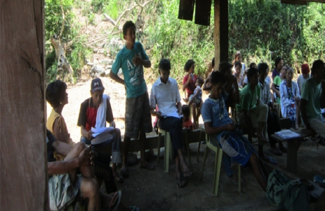 Project Management Orientation Conducted in Sitio Masablang, Dominglay, Licuan-Baay, Abra